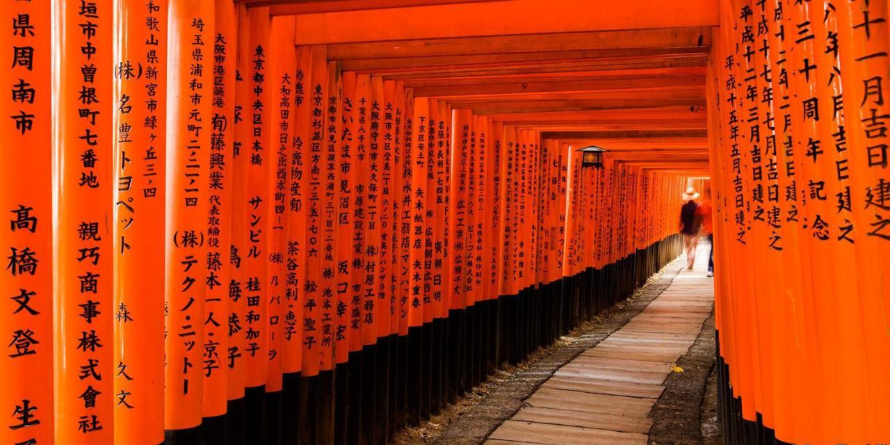 日本旅行-第一部分京都休闲游